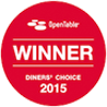 Diners Choice Award 2015