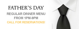 Father's Day at Mill Pond House Restaurant
