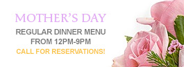 Mother's Day at Mill Pond House Restaurant