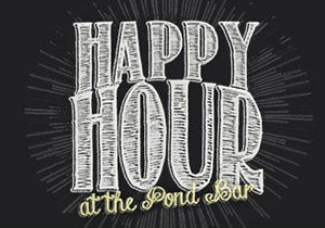 Happy Hour at Mill Pond House